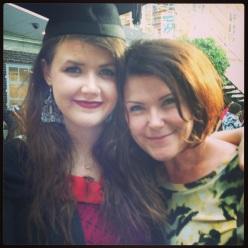 Beth's graduation